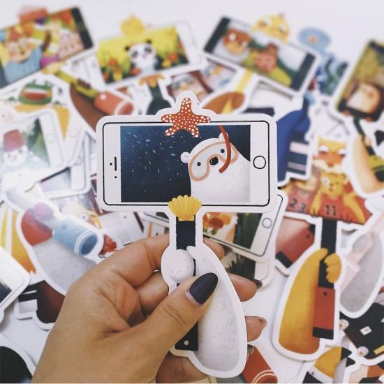 Открытки/закладки Pets Selfie, 1 шт