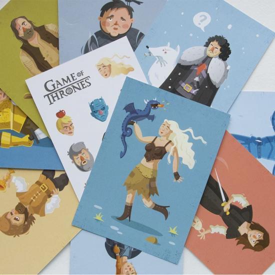 Поздравительные открытки Game of Thrones