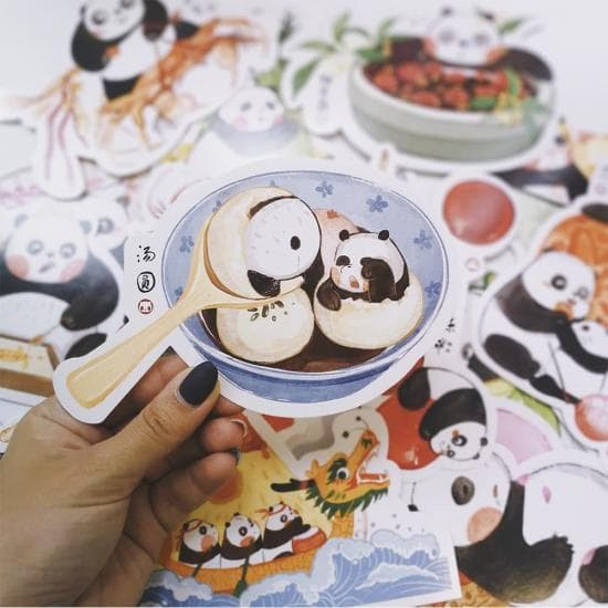 Открытки Panda, поштучно