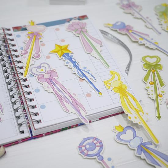 Закладки для книг Magic Wand, бумажные (1 шт)