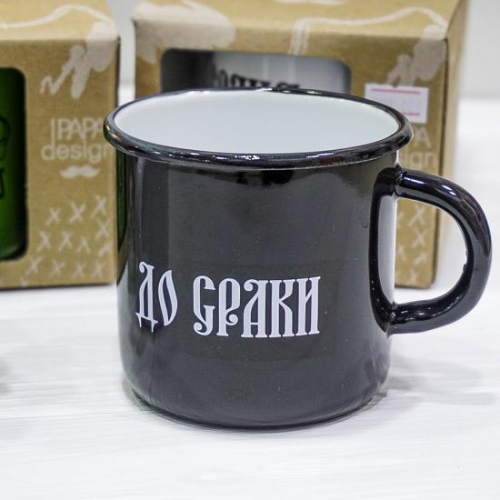"""Чашка эмалированная """"До сраки"""""""