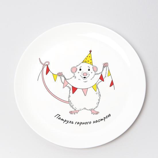 Тарелка Мышонок