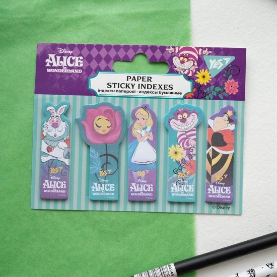 Закладки индексы Alice in Wonderland