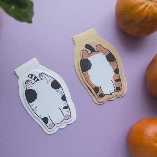 Стикеры на подставке Котячье Пузико